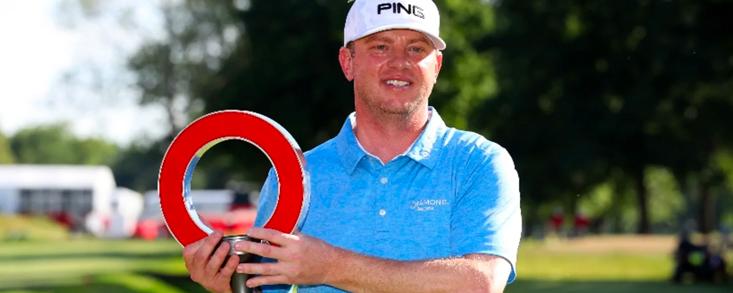Nate Lashley remata con victoria una semana prodigiosa en el PGA Tour