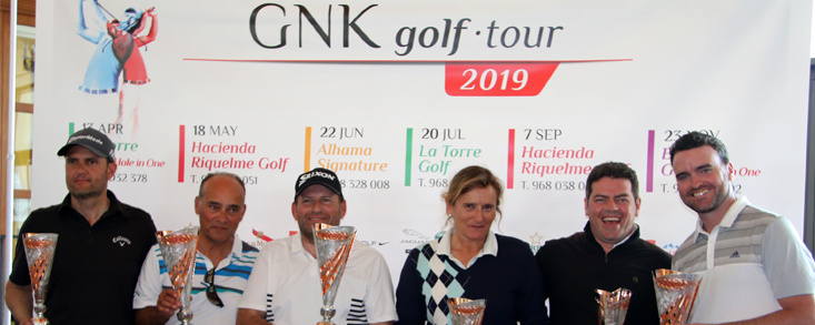 Arranca el Circuito GNK Golf Tour