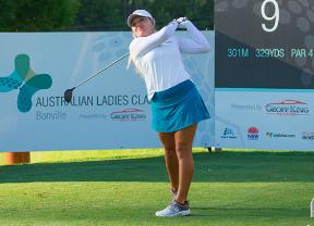 Stephenson (-6) lidera con Luna Sobrón (-2) como mejor española