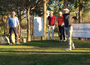 Cuatro días y 132 jugadores en Lauro Golf