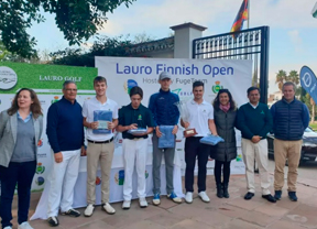Pedro Marín y Henni Mustonen triunfan en Lauro Golf en el Finnish Golf Open