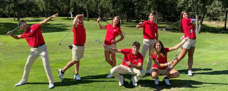 Madrid y León ya trabajan con una nueva generación de golfistas para el futuro