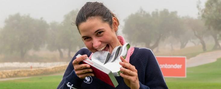 La amateur Agatha Laisne suma su segunda victoria en el Let Acces
