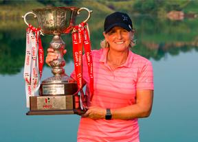 Becky Morgan logra la primera victoria de su carrera