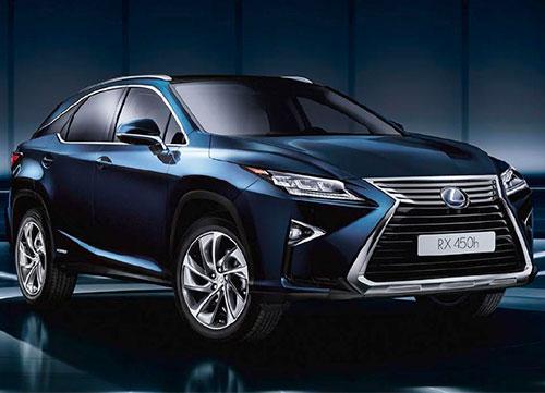 Lujo ecológico con el Lexus RX 450h