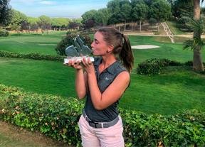 Laura Gómez consigue el triunfo en La Peñaza con un total de -5
