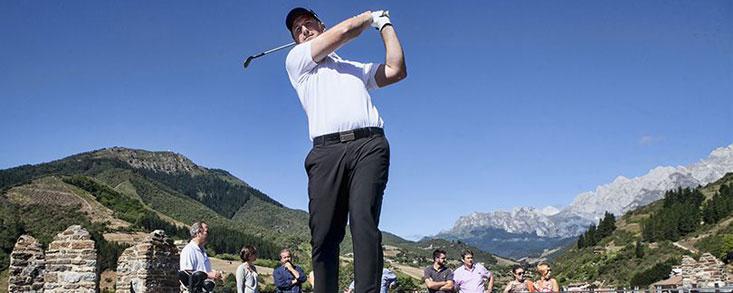 La Caixa patrocinará el Año Jubilar Lebaniego, estandarte del Campeonato de España de la PGA