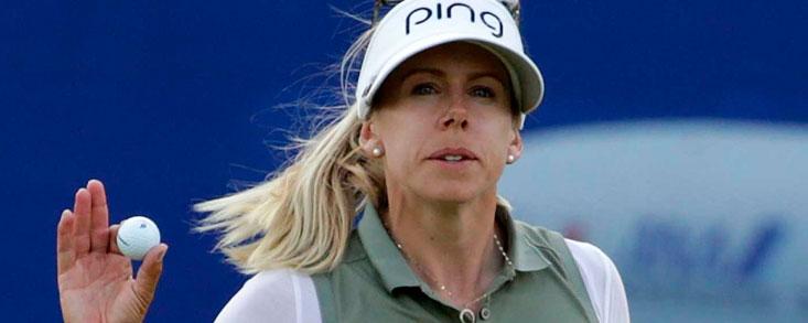 Pernilla Lindberg se estrena a lo Grande en la LPGA tras ocho hoyos de play off