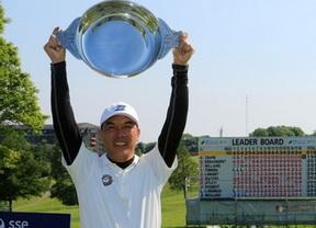 El golf chino se estrena en el European Senior Tour
