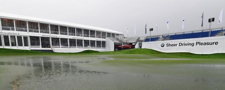 La lluvia, protagonista de un torneo que se suspendió hasta el domingo