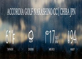 La lluvia obliga a suspender la segunda jornada del torneo que se reanudará el sábado