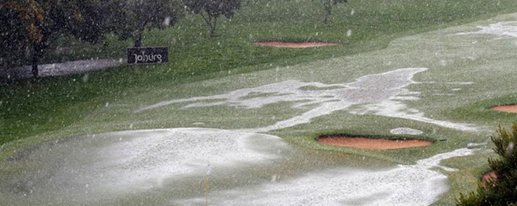 Las fuertes lluvias obligan a dejar para el lunes el final en Sudáfrica