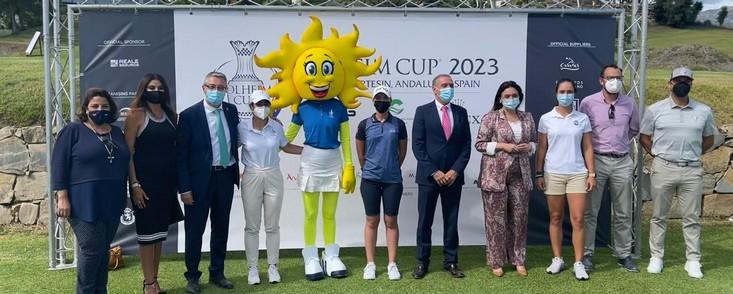 'Sol', la mascota oficial de la Solheim Cup de 2023