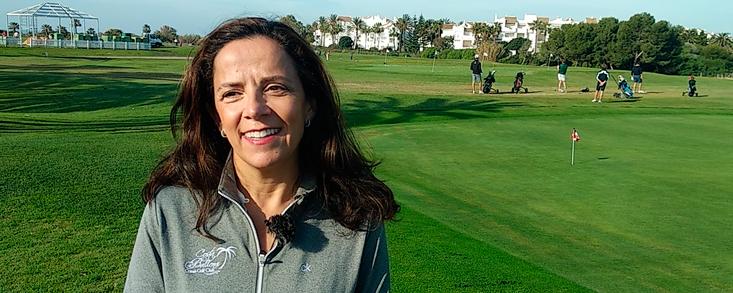 Lola Ruiz Calderón: 'El Pro-Center es la guinda de Costa Ballena Club de Golf'