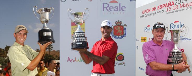 Grandes momentos en la historia del golf español