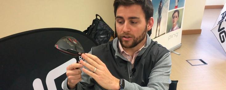 Borja Lostau, fitter de PING, nos enseña los secretos del nuevo driver G410