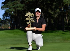 Primera victoria de Maja Stark con Carmen Alonso cuarta, a siete golpes