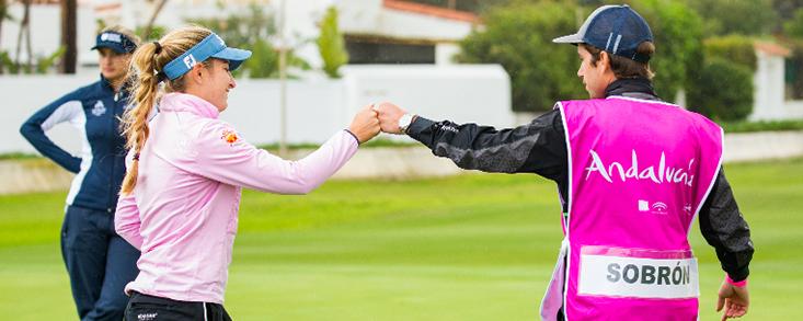 Luna Sobrón y Nuria Iturrioz destacan en la primera jornada