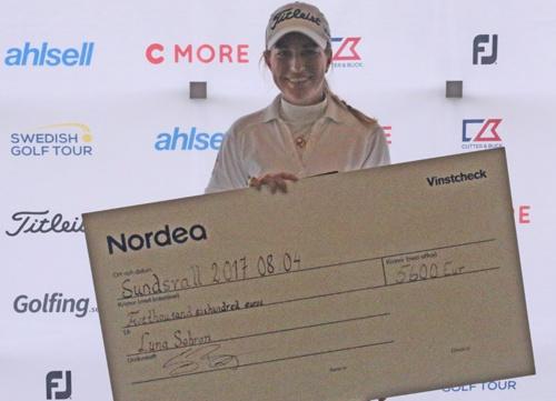 Luna Sobrón gana en play off su segundo torneo del LET Access Series