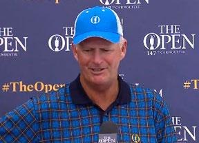 Sandy Lyle juega su 42º Open consecutivo