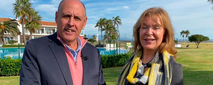 Lynn Mitchell: 'Vamos a llevar la Costa del Sol a casi 300 millones de hogares'