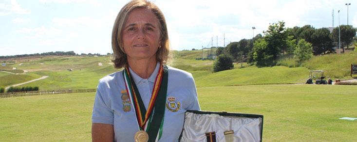Macarena Campomanes: 'El golf es todo para mí'