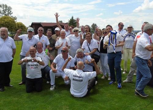El golf también vive la rivalidad de los dos equipos finalistas de la Champions