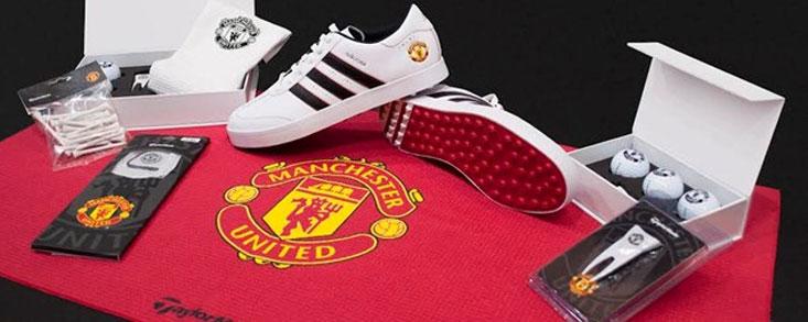 El golf y el fútbol de la mano de TylorMade-Adidas y el Manchester United