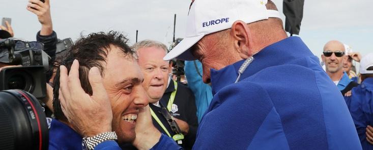Francesco Molinari: 'Cada uno ha hecho lo que tenía que hacer, ha sido una gran victoria'
