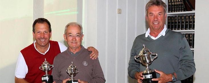 Los 'Manolos', Montes y Moreno, campeones de Madrid Senior