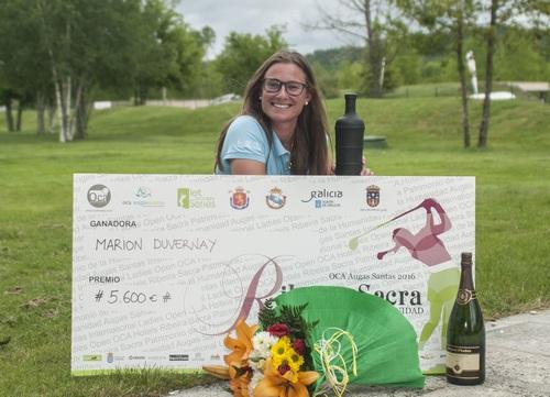 Gran victoria de Marion Duvernay en el play-off