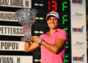 Marta Sanz Barrio gana el IOA Golf Classic y ya sueña con el LPGA Tour