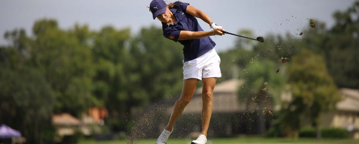Marta Sanz (-11) lidera en Florida y está cada vez más cerca de la LPGA