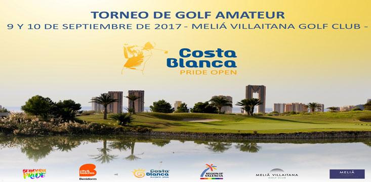 El Costa Blanca Pride Open visitará Benidorm en septiembre