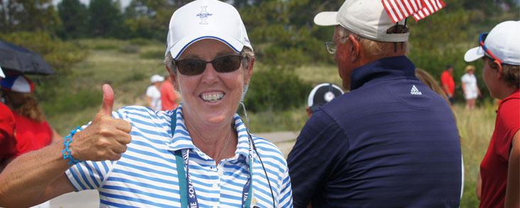 Marta Figueras Dotti: 'Lo de la prohibición de jugar en el campo de golf olímpico a las mujeres es una verguenza'