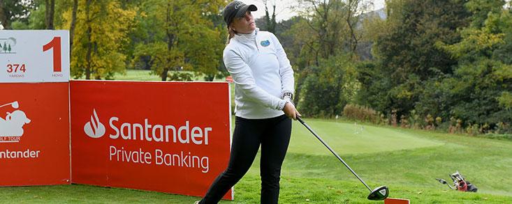 """Marta Pérez: """"Ganar el Santander Golf Tour sería algo muy especial"""""""