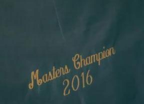 Danny Willet ya luce su Chaqueta de ganador 2016 en Augusta