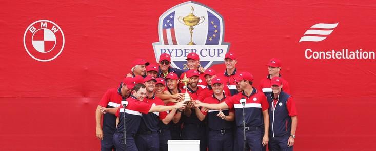 Victoria justa y sin paliativos del equipo norteamericano en la Ryder Cup