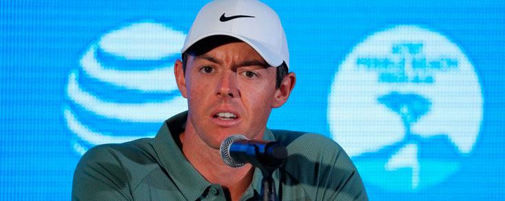 Rory McIlroy: 'Ahora quiero jugar mucho al golf y eso es lo que voy a hacer'