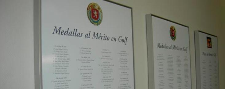 La RFEG aprueba la concesión de galardones al Mérito en Golf