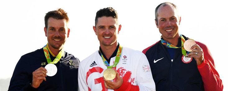 Justin Rose lograba en Río la medalla de oro en la vuelta del golf a los Juegos