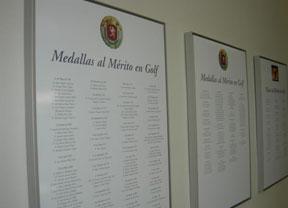 Concesión de Medallas y Placas al Mérito en Golf 2017 de la RFEG