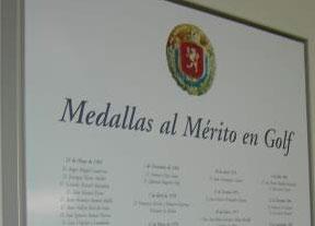 Concesión de Medallas y Placas al Mérito en Golf 2015 de la RFEG