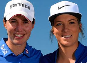 Carlota Ciganda y Mel Reid pasan a la siguiente fase del GolfSixers