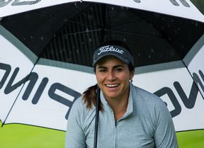 La mexicana Ana Menéndez lidera el torneo en una jornada inconclusa