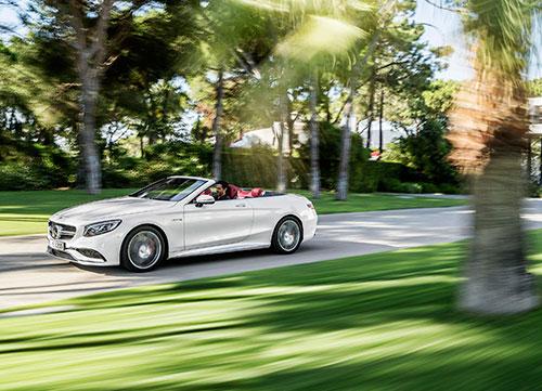 El sin techo más confortable, Mercedes Clase C Cabrio