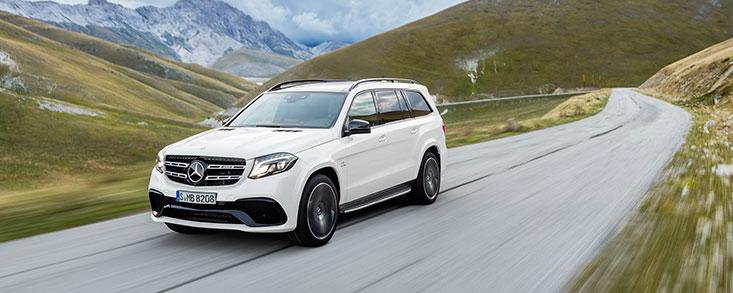 First-class dentro y fuera de la carretera en el Mercedes GLS
