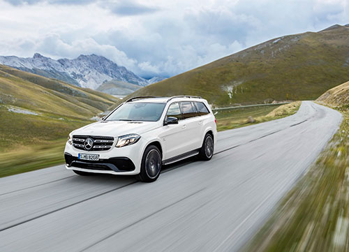 First-class dentro y fuera de la carretera en el Mercedes GLS