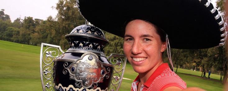 Carlota Ciganda consigue en México su segunda victoria en la LPGA esta temporada tras su triunfo en Corea