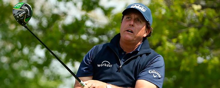 Mickelson: 'Jugaré el PGA Champions cuando deje de pegar bombas'